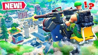 *NEW* Mounted Turret VS Tilted Towers in Fortnite Battle Royale!