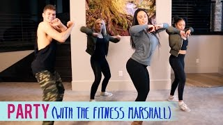 Chris Brown - Party ft. Gucci Mane, Usher (feat. The Fitness Marshall) | Dance Fitness with Jessica