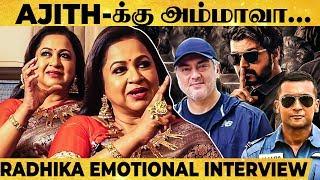 வாழ்க்கையை சொல்லிக்கொடுத்ததே என் பொண்ணுதான்! - Radhika Sarathkumar Reveals Emotional Family Stories!