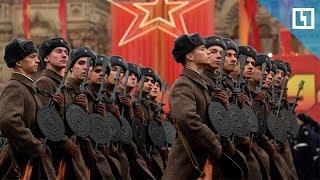 Парад 7 ноября на Красной площади
