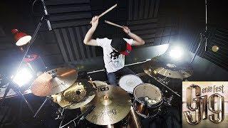 แสงสุดท้าย (g19fest Version) - ศิลปิน G19   Drum cover   Beammusic