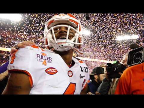 BOOK IT Deshaun Watson will be the 2017 1 overall pick to the Browns