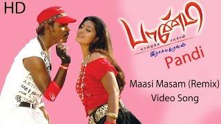 Masi Masi (Remix) Video Song | Raghava Lawrence | Sneha | Srikanth Deva | Rasu Madhuravan |