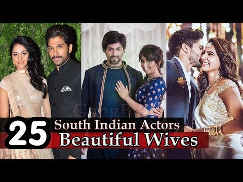 South Indian Actors Wife 25 Most Beautiful Wives Of South Indian Super Stars Actors Wives