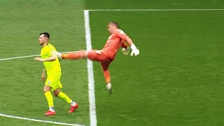 10 SHOCKING Goalkeeper Red Cards In Football