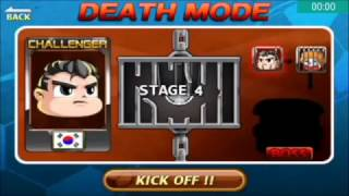Head Soccer Challenge - Death Mode with South Korea Stages 1-10 Part 4#