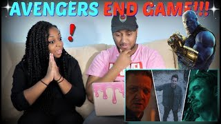"Marvel Studios' ""Avengers: END GAME"" Official Trailer REACTION!!!"