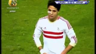 اهداف الزمالك 7-0 جازيلي - تعليق محمود بكر 17/2/2013