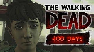 ZOMBİ BESLEYEN SHEL :D | The Walking Dead 400 Days Bölüm 1