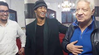 محمد رمضان يلبي دعوة  رئيس نادي الزمالك المستشار مرتضي منصور لزيارة النادي