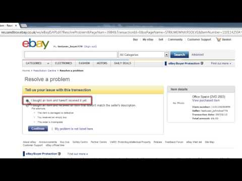 How to File Ebay Dispute