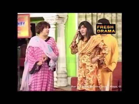 Zafri and Naseem khusra   Pakistani stage drama funny comedy show latest Best