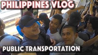 Cheap travel Public transportation in Metro Manila Philippines