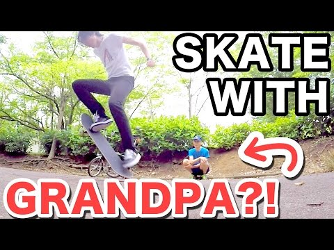 SKATING IN JAPAN!|ADVICE FROM JAPANESE GRANDPA?! | Replying to Subscriber Comments :)