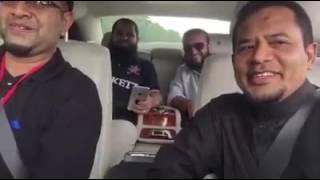 Mishary Rashid Al-Afasy in Rolls Royce Ghost ➡️ Al-Fatihah & Ad-Faita. In Singapore