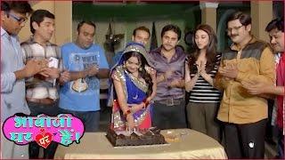 Angoori Bhabi Celebrates Her Birthday On The Sets Of Bhabi Ji Ghar Par Hai