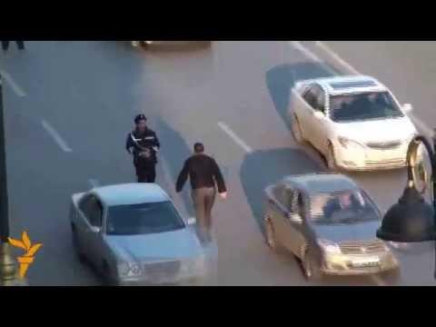 PERVİZ BÜLBÜLE SAXLANİLDİ Yol polislerin haram qazançlari