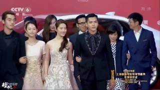 Kris Wu With The Never Gone Cast At Shanghai International Film Festival Red Carpet [160611|1080P]