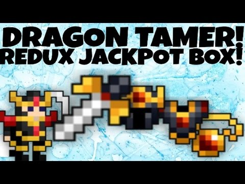 I GOT THE HELMET! SPENDING GOLD ON DRAGON TAMER JACKPOT BOX! (RotMG)