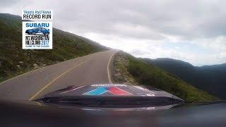 Travis Pastrana RECORD RUN POV - Mt. Washington Hillclimb 2017