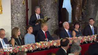 Sen. Roy Blunt delivers welcome remarks at Statuary Hall luncheon