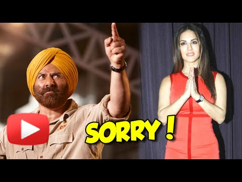 Why Sunny Leone Apologized To Sunny Deol?