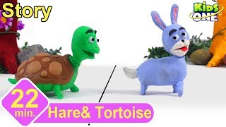 Hare and Tortoise Story | Panchatantra Stories for Children | 3d Animated English Stories