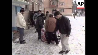 RUSSIA: CHECHNYA: TWINS SHOT BY RUSSIAN SNIPERS