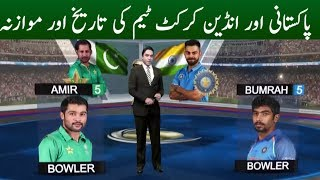 Comparison of Indian & Pakistani Cricket Team | Champions Trophy 2017