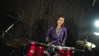 Khalifah - Hang Pi Mana ( Drum Cover by Nur Amira Syahira )