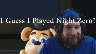 FNaF 6 Bug - I Guess I Played Night Zero?  (Night 0 Bug)