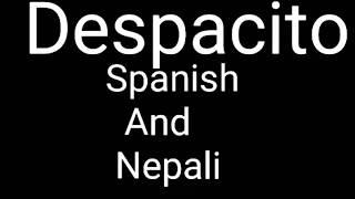 Despacito Spanish And Nepali Remix (DJROSHAN VEVO)