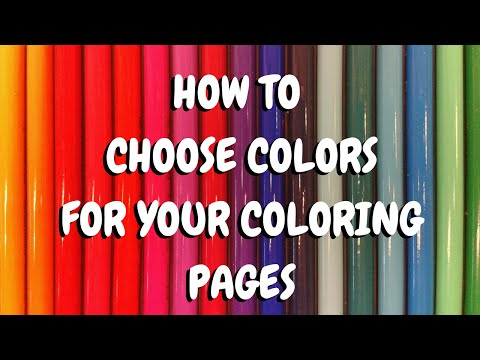 Adult Coloring Book Hack- How to Choose the Perfect Color Scheme for Your Page