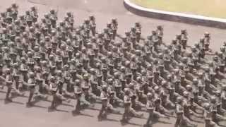 69th Anniversary of TNI ( Indonesian Armed Force) 2014, Military Parade Part 3 HD