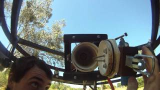 Airsoft Tank breech loading Cannon Test
