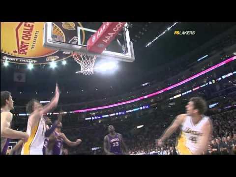 #10 vs Phoenix Suns - Pau Gasol Video Project 2011