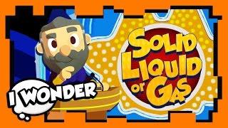 I Wonder - Season 1 Ep 11 - Stampylonghead (Stampy Cat) & Keen - Solid, Liquid, or Gas! WONDER QUEST