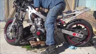 Building a 1998 Honda CBR 600 F3 (timelapse)