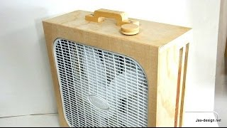Workshop air cleaner build