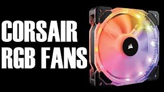 Corsair SP120 & HD120 RGB Fan Review