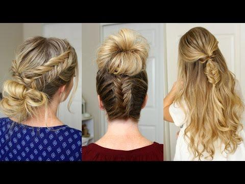 3 Fishtail Braid Hairstyles | Missy Sue