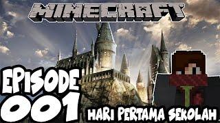 Hari Pertama jadi Harry Potter - Minecraft Wizard Series Indonesia #1