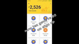 Earn Rs 80 On Sign Up From Google Tez App And Earn Upto 9000