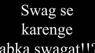 Swag Se Swagat Song with Lyrics | Tiger Zinda Hai | Salman | Katrina | Irshad Kamil