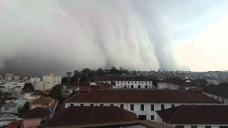 Virada repentina do tempo em Caxias do Sul 16-09