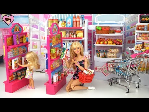 Xxx Mp4 Barbie Doll Grocery Store Supermarket With Hello Kitty Rement Miniature Dollhouse Food 3gp Sex