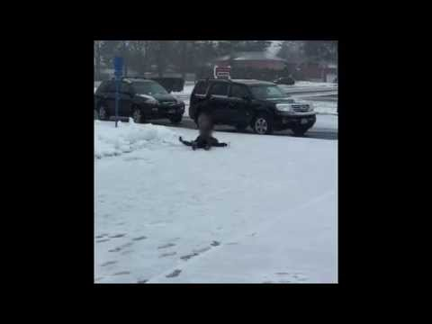 Xxx Mp4 Kids Slip On Ice Infront Of High School January 26 2015 3gp Sex