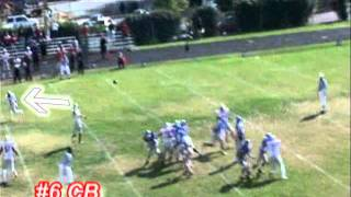 Blake Monroe Class of 2012 Football Highlight