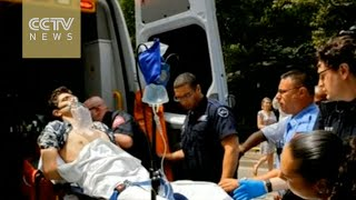 NYC Central Park blast: Tourist wounded by homemade firework