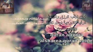 ايات جلب الرزق والبركة ان شاء الله الرقية الشرعية  quran alroqia alsharea islam